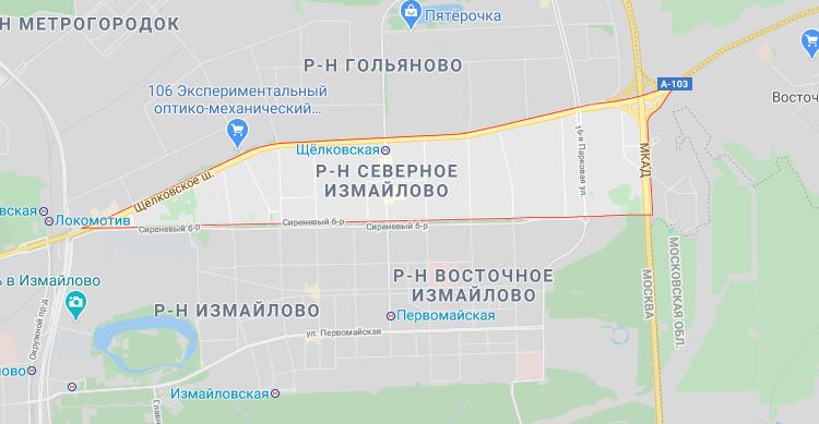 izmajlovo3 - Эвакуаторы в Северном и Восточном Измайлово