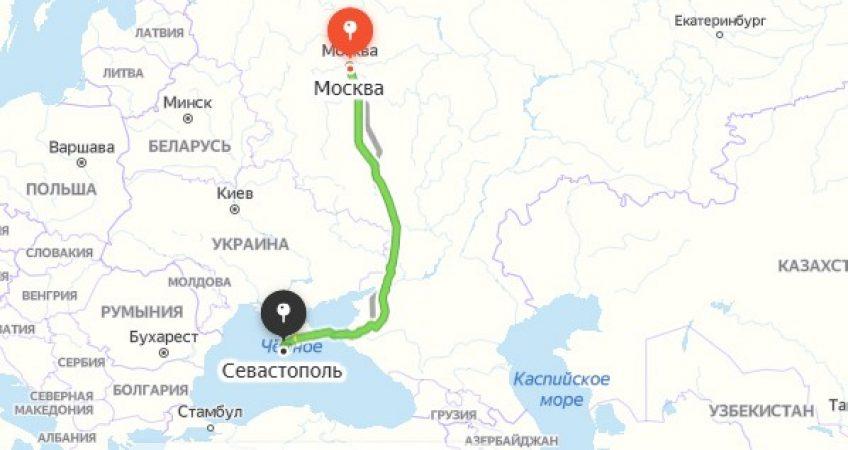 Эвакуация в Севастополе