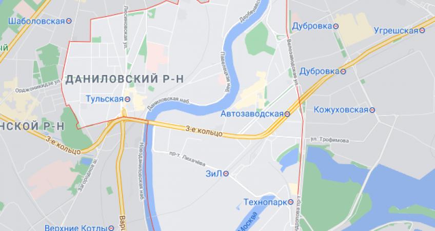 Эвакуация в Даниловском районе