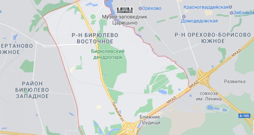 Эвакуация в Бирюлево-Восточное