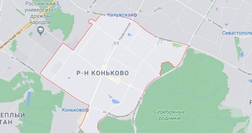 Эвакуация в районе Коньково