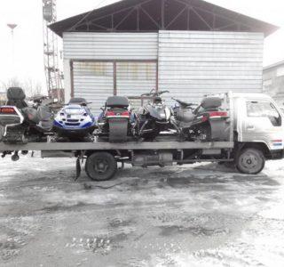 перевозка снегоходов