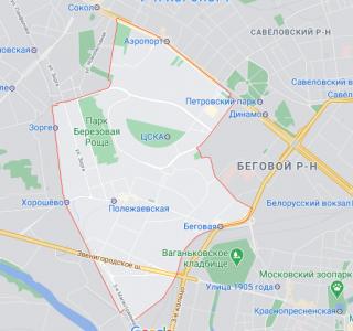 Эвакуация в Хорошевском районе
