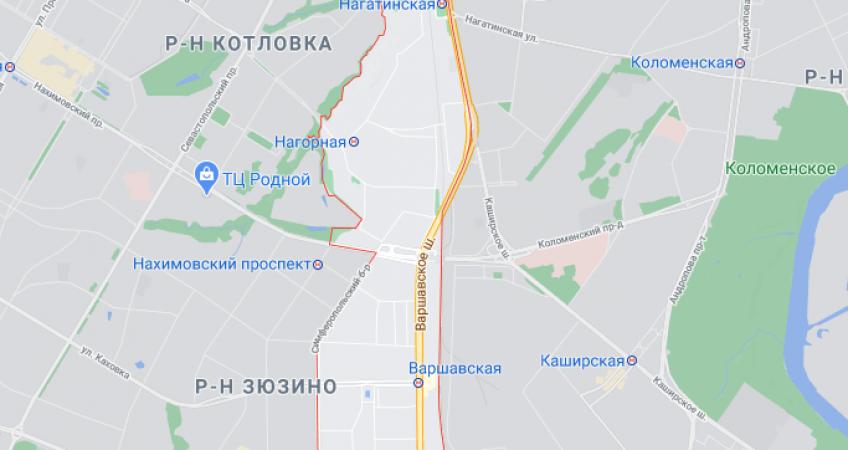 Эвакуация в районе Нагорный