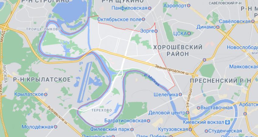 Эвакуация в Хорошёво-Мневники