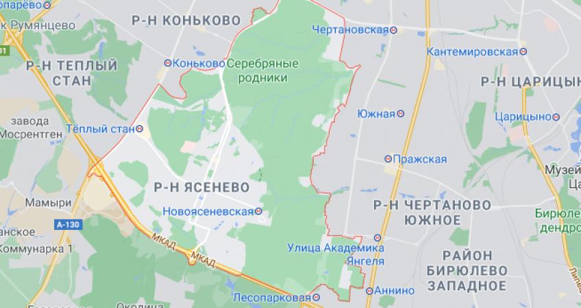 Эвакуация в Ясенево