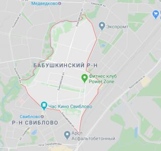 Эвакуация в Бабушкинском районе
