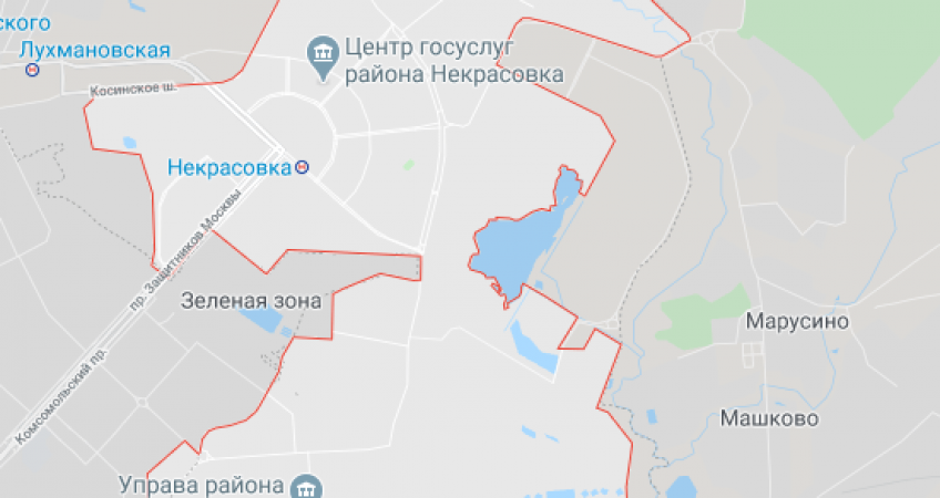Эвакуация в Некрасовке