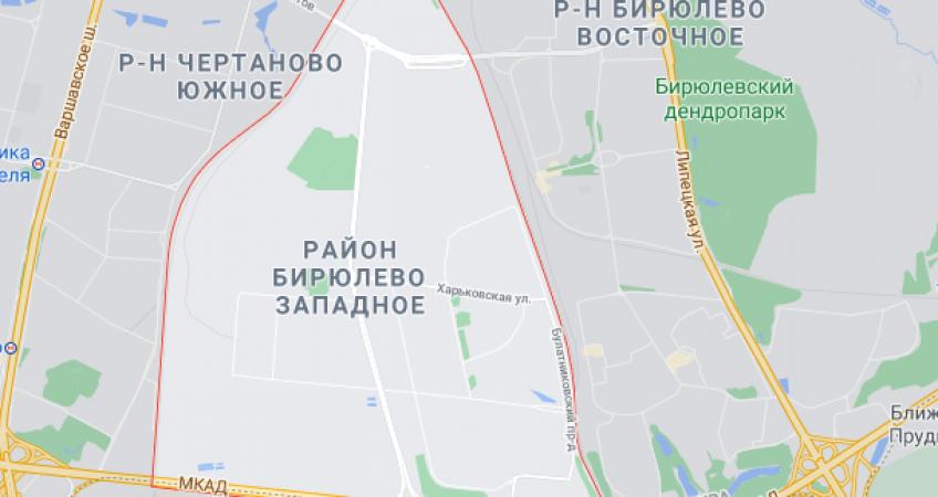 Эвакуация в Бирюлево-западное