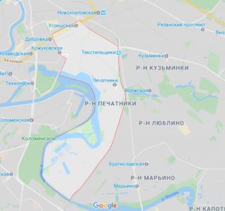 Эвакуация в районе Печатники