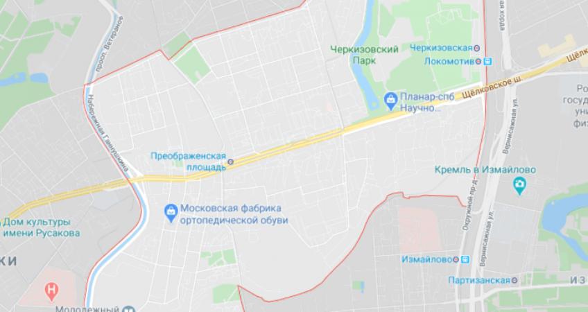 Заказ эвакуатора в Преображенское