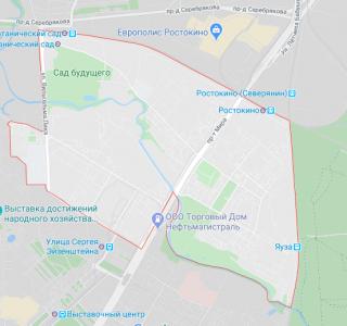 Эвакуация в Росткино