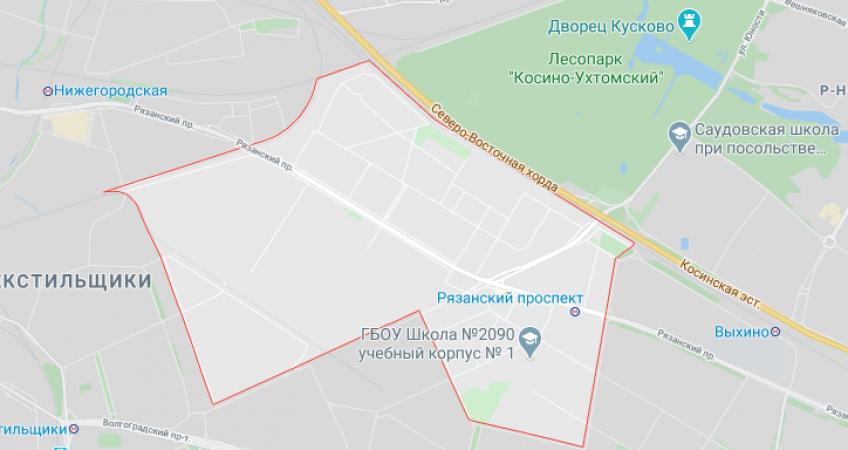 Эвакуация в Рязанском районе