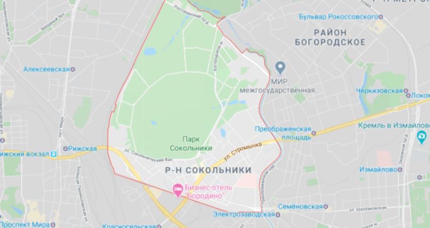Заказ эвакуатора в Сокольники