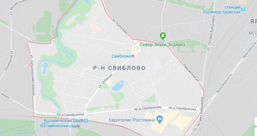 Эвакуатор в Свиблово